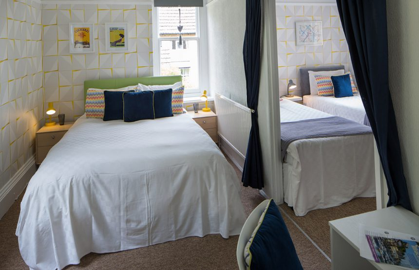 room two bed